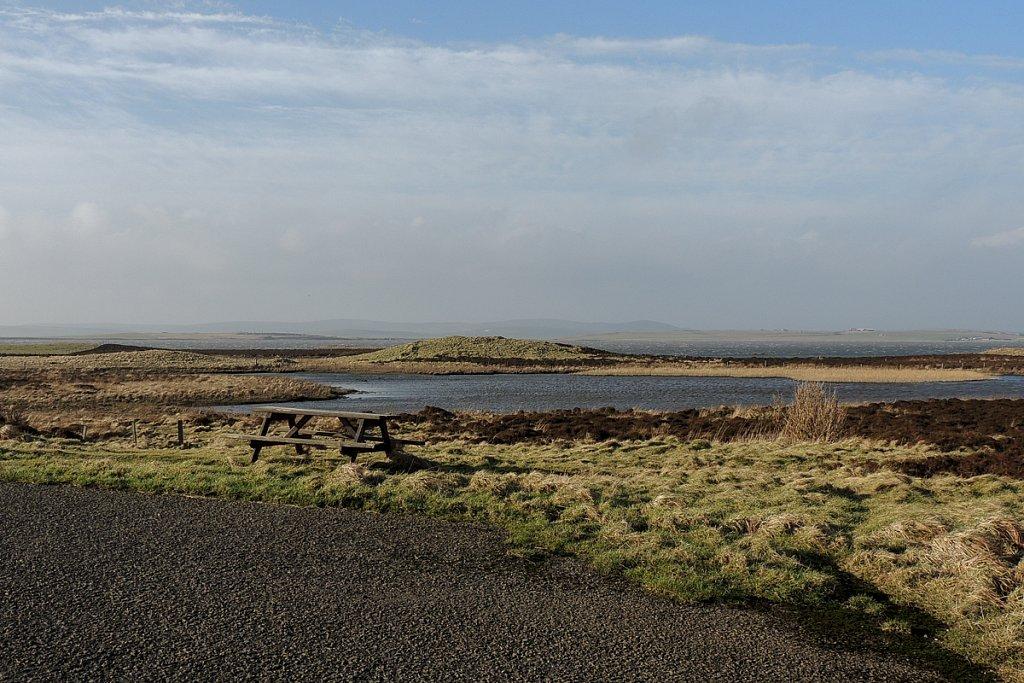 Car Park at Loch of Harray