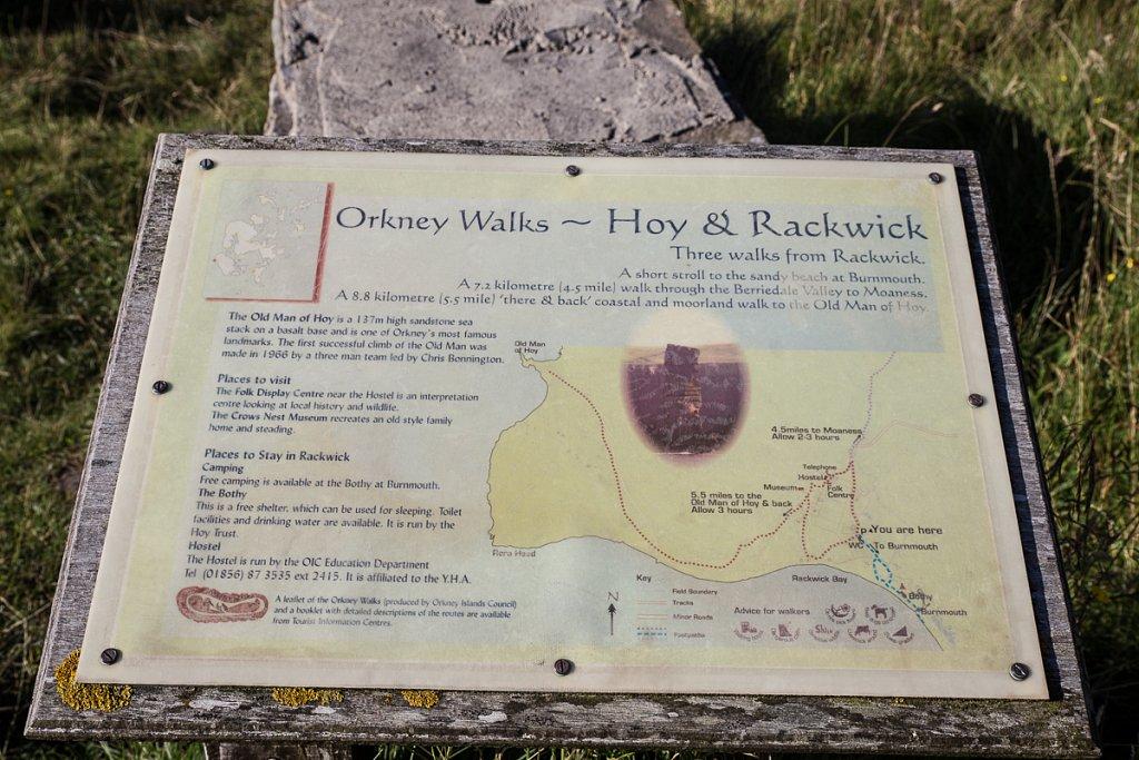 Rackwick Signage