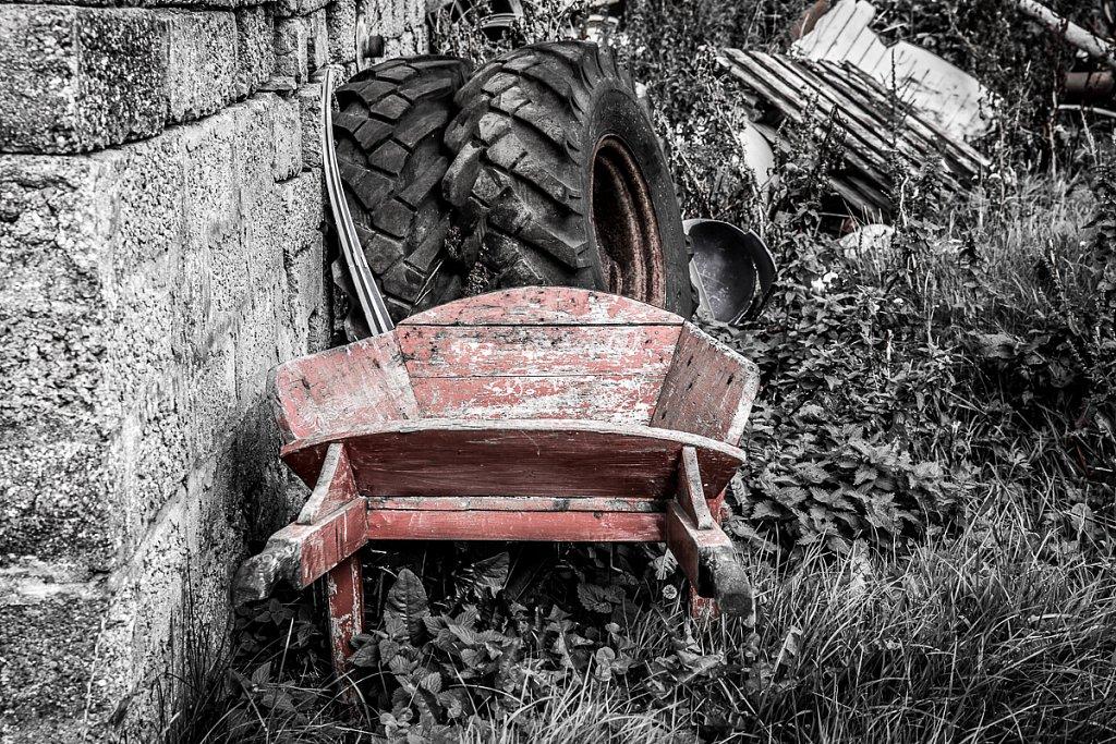 Little Red Wheelbarrow