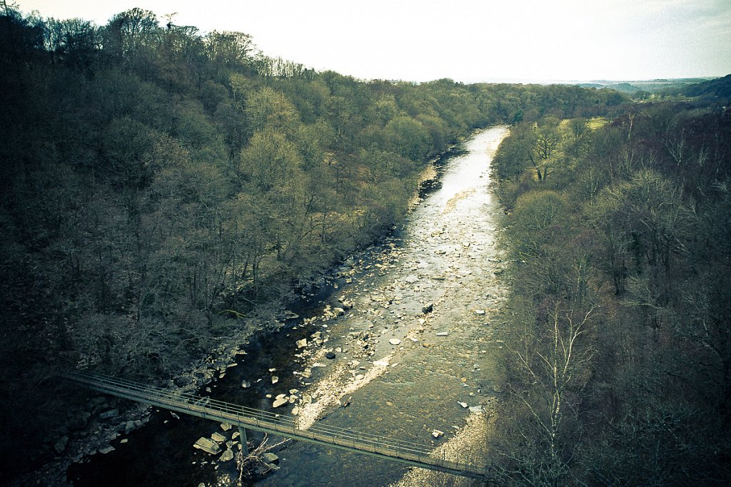 View from the viaduct