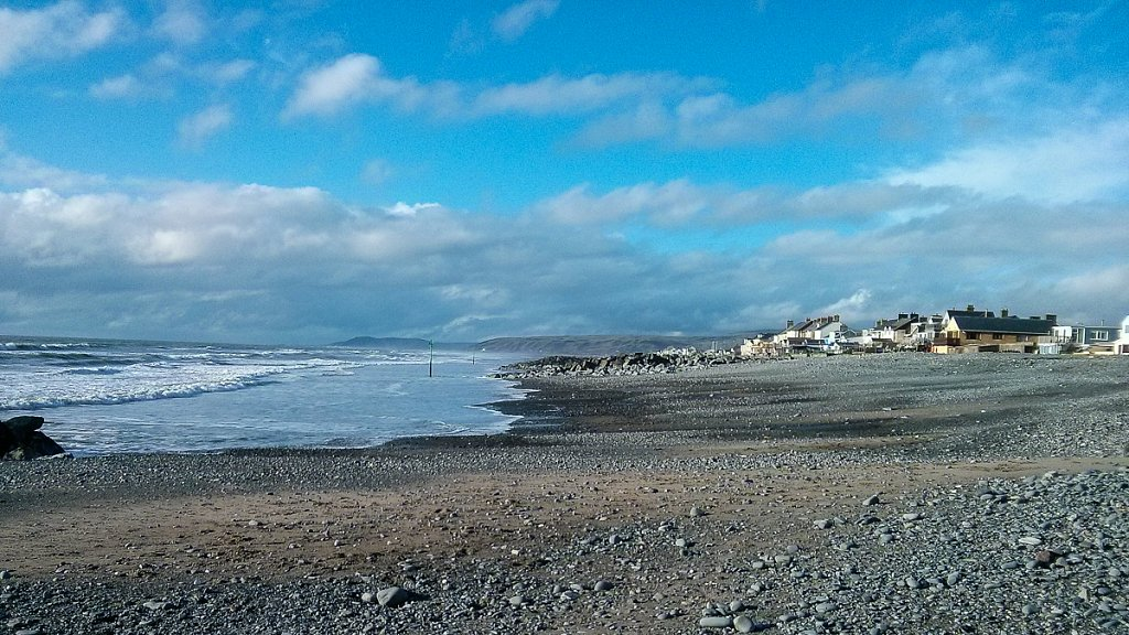 Borth when the sun came out